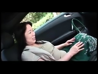 Asian granny plays with sex toys before getting fucked hard