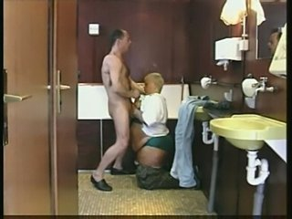 Dirty mature gets cock up her ass.