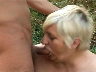 Big Fat Ass Granny gets dominated
