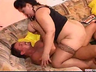Superb BBW MILF is a fantasy for the common man.