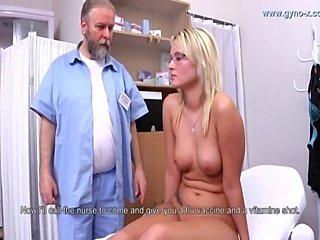 gynoexam of czech girl