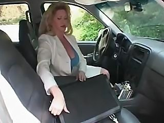 This older woman is on the prowl for some hot young cock to fill her pussy