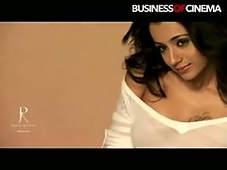 Trisha without Bra Photo shoot