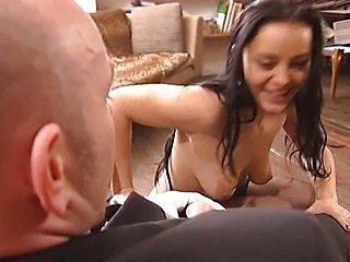 Liza Del Sierra - French maid fucked