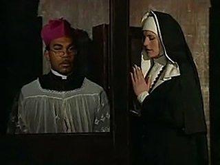 Nun in confession
