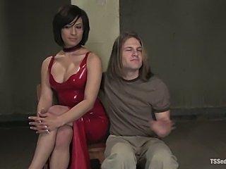 Deanna dominates guy