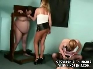 Femdom pantyhose  free