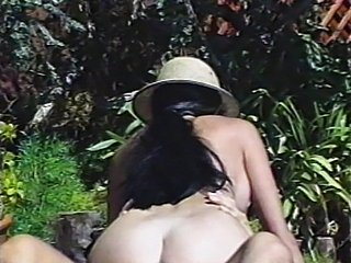 Hunting a cock at the pool