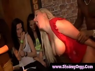 Girls next door go crazy at cfnm party  free