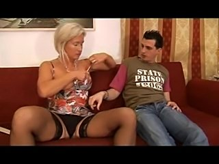 Hot Blonde Italian Mother