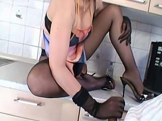 Great Pantyhose Lady