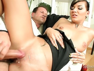George Uhl seduces Silvie Deluxe into fucking